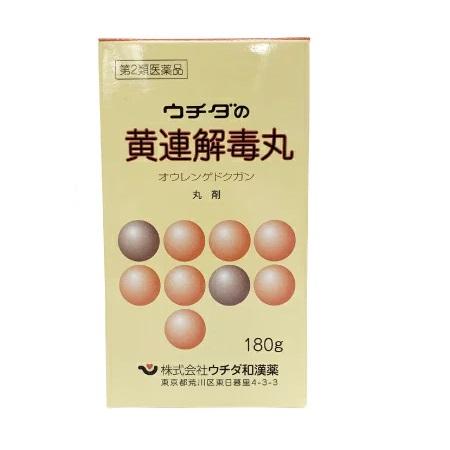 ウチダの黄連解毒丸 160g